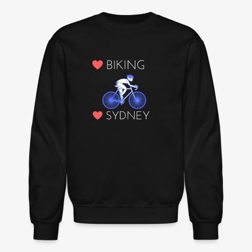 Love Biking Love Sydney tee shirts - Crewneck Sweatshirt