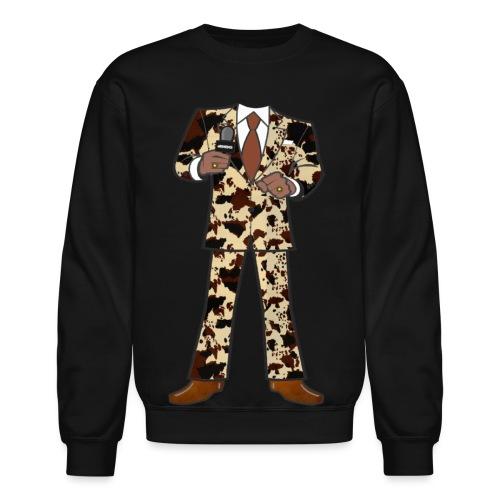 The Classic Cow Suit - Unisex Crewneck Sweatshirt