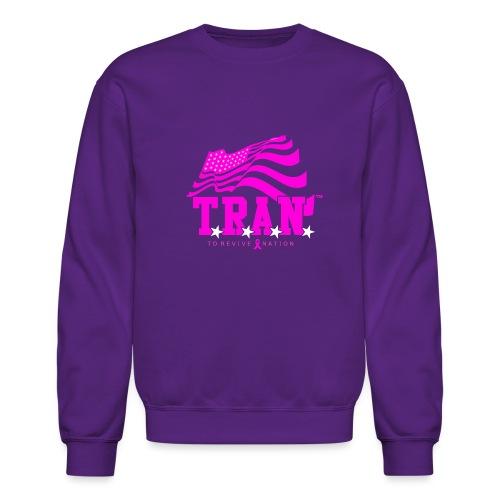 TRAN Ribbon Logo 4 - Unisex Crewneck Sweatshirt