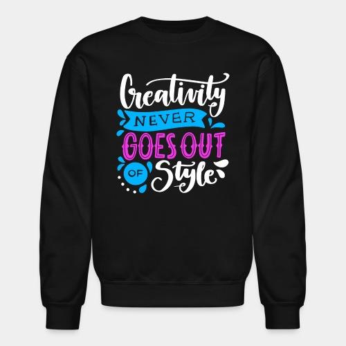 creativity style - Crewneck Sweatshirt