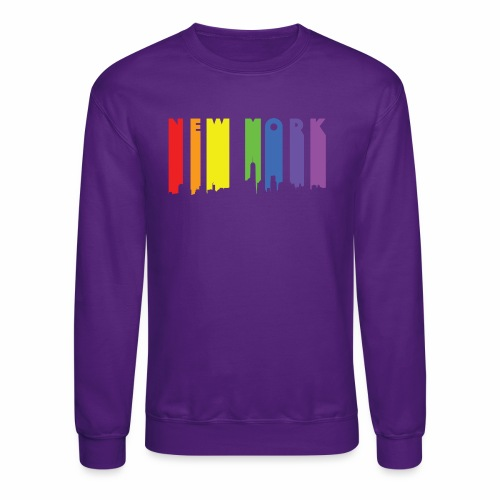 New York design Rainbow - Crewneck Sweatshirt