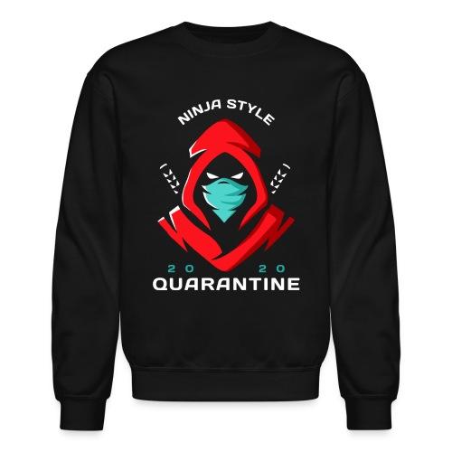 ninja japan quarantine - Unisex Crewneck Sweatshirt