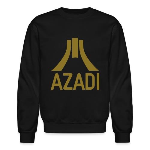 Azadi retro stripes - Crewneck Sweatshirt