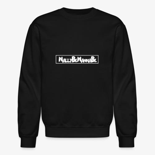 WallyBeWannaBe White - Crewneck Sweatshirt