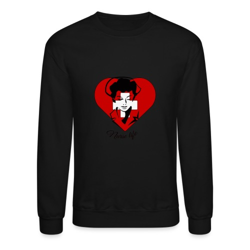nurselife - Crewneck Sweatshirt