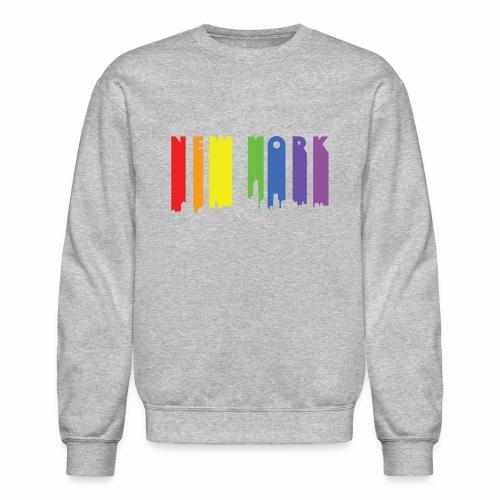 New York design Rainbow - Crewneck Sweatshirt