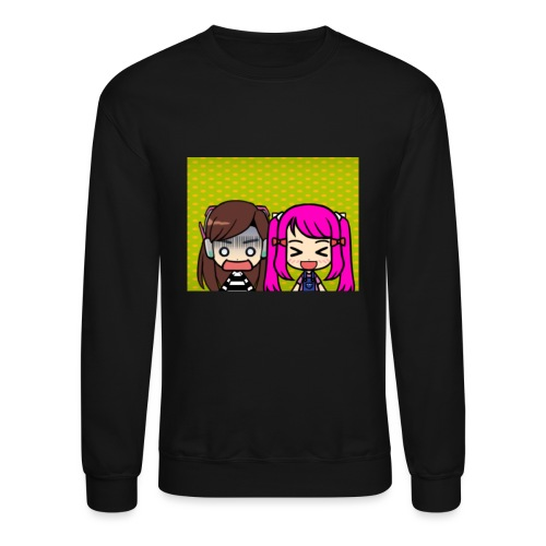 Phone case merch of jazzy and raven - Unisex Crewneck Sweatshirt
