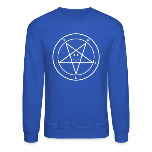 Smile Pentagram - Crewneck Sweatshirt
