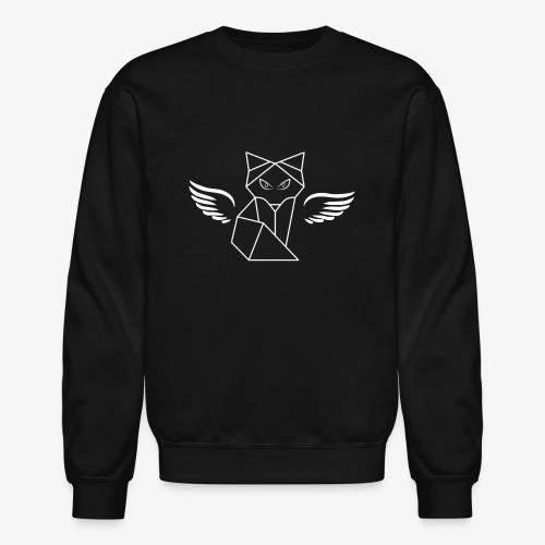 Winged Wolf - Unisex Crewneck Sweatshirt