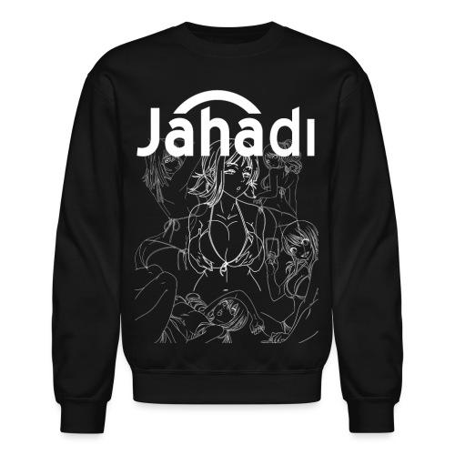 HADIBITCHESWHITE - Crewneck Sweatshirt