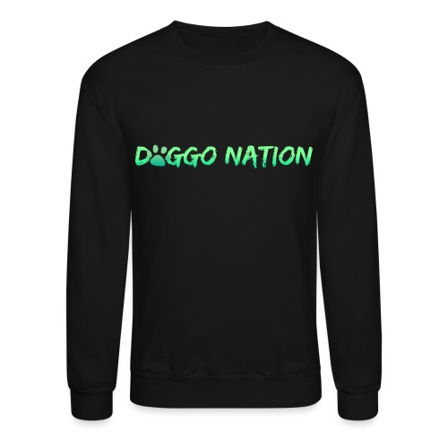 DoggoNation Logo - Crewneck Sweatshirt