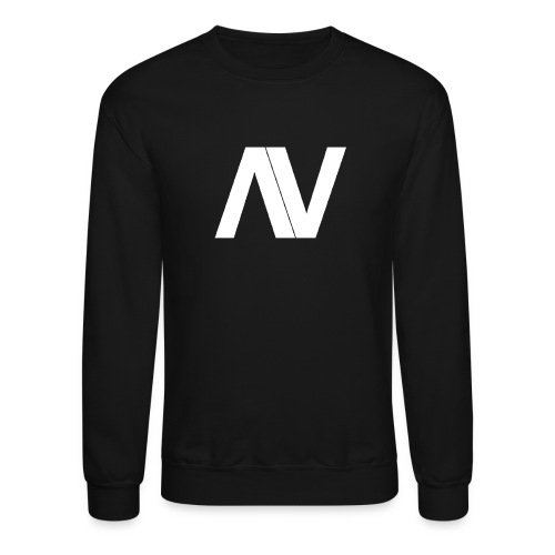 AviaryVision Logo (White) - Unisex Crewneck Sweatshirt
