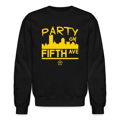 party_on_fifth2 - Unisex Crewneck Sweatshirt