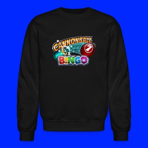 Vintage Cannonball Bingo Logo - Crewneck Sweatshirt