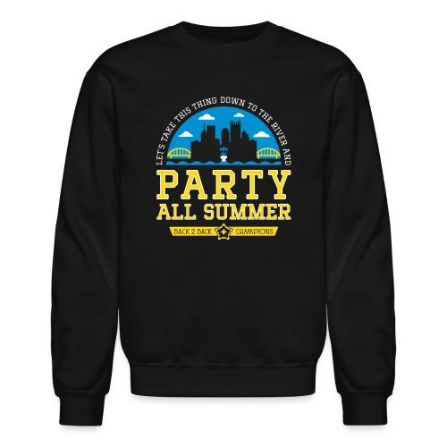 party all summer - Crewneck Sweatshirt