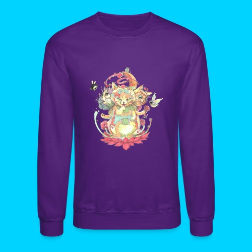 Contraption Brahma Neko - Crewneck Sweatshirt