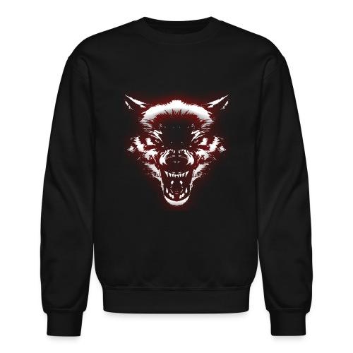 Angry Wolf - Crewneck Sweatshirt
