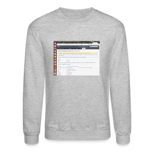 Screenshot from 2016 09 07 02 14 53 - Crewneck Sweatshirt