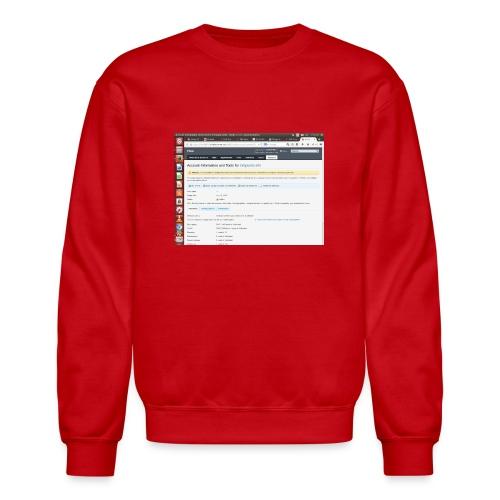 Screenshot from 2016 09 07 02 14 53 - Crewneck Sweatshirt