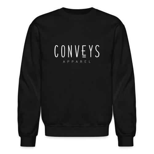 Conveys Apparel - White - Unisex Crewneck Sweatshirt