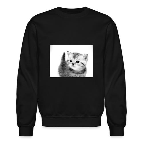 funny cat and kitten pictures jpg - Unisex Crewneck Sweatshirt