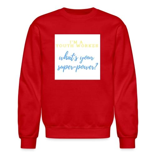 Super Hero - Crewneck Sweatshirt