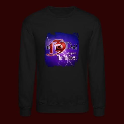 The 13th Doll Logo With Lightning - Crewneck Sweatshirt