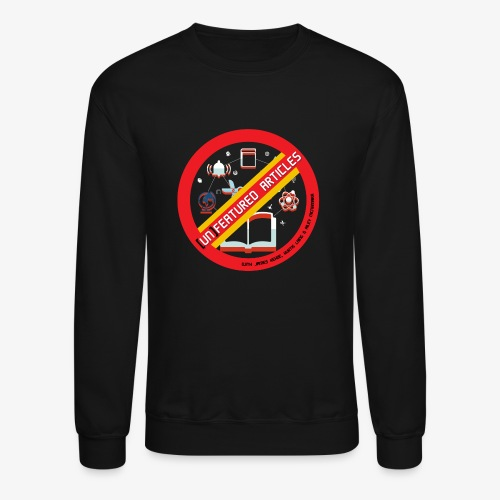 unFeatured Articles Logo - Crewneck Sweatshirt