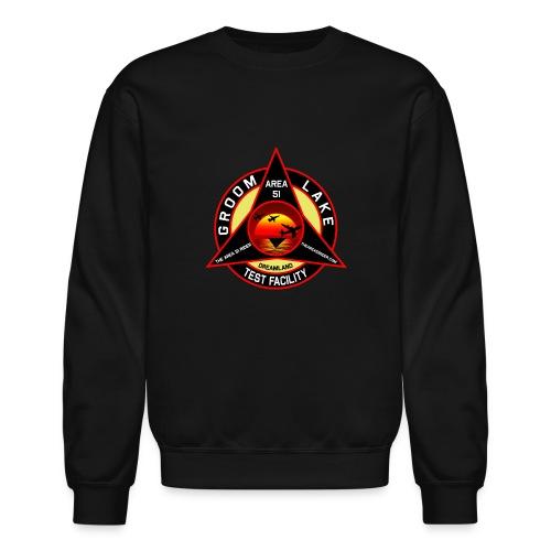 THE AREA 51 RIDER CUSTOM DESIGN - Unisex Crewneck Sweatshirt