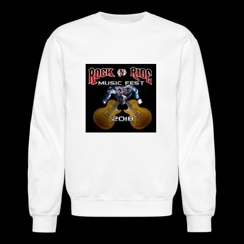 RocknRide Design - Unisex Crewneck Sweatshirt