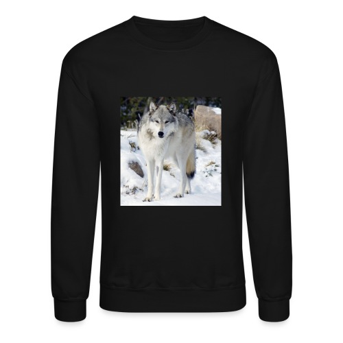 Canis lupus occidentalis - Crewneck Sweatshirt