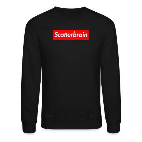 scatterbrain logo - Crewneck Sweatshirt