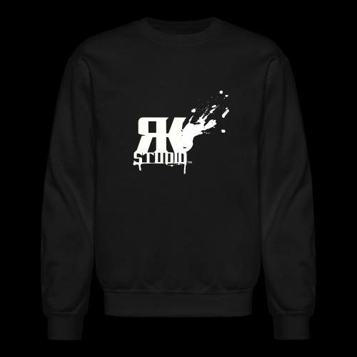 RKStudio White Logo Version - Unisex Crewneck Sweatshirt