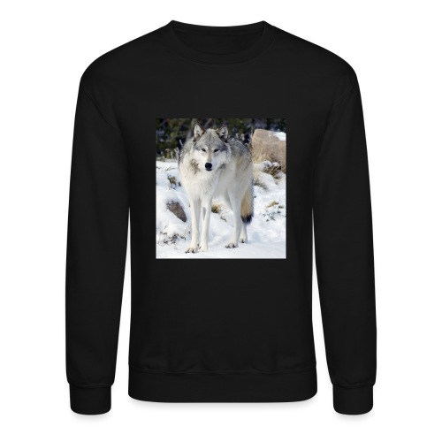 Canis lupus occidentalis - Crewneck Sweatshirt