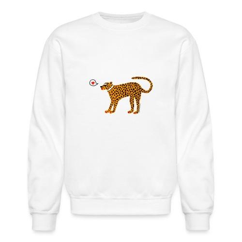 Glam Cat - Unisex Crewneck Sweatshirt