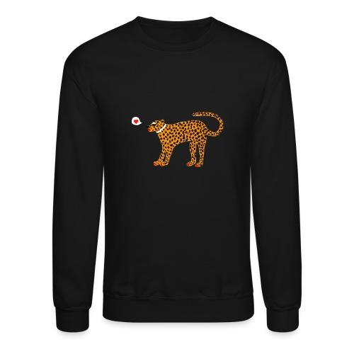 Glam Cat - Unisex Crewneck Sweatshirt