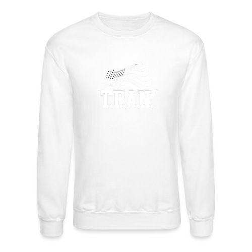 New Tran Logo Transparent inverted png - Crewneck Sweatshirt