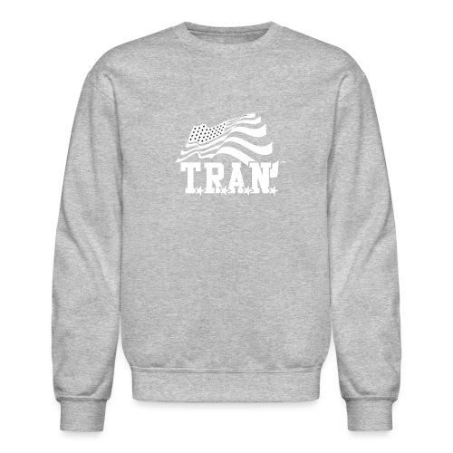 New Tran Logo Transparent inverted png - Crewneck Sweatshirt