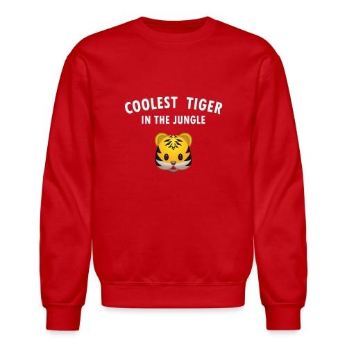 Coolest Tiger Hoodie - Crewneck Sweatshirt