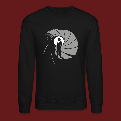James Bond 1 png - Crewneck Sweatshirt