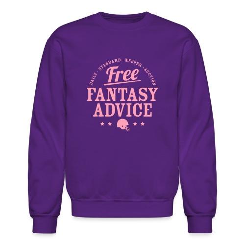 Free Fantasy Football Advice - Crewneck Sweatshirt