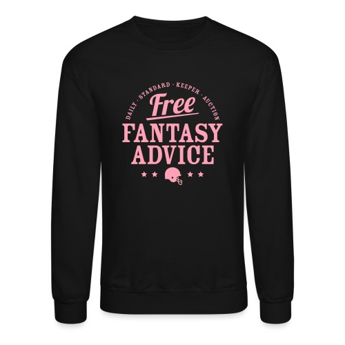 Free Fantasy Football Advice - Crewneck Sweatshirt