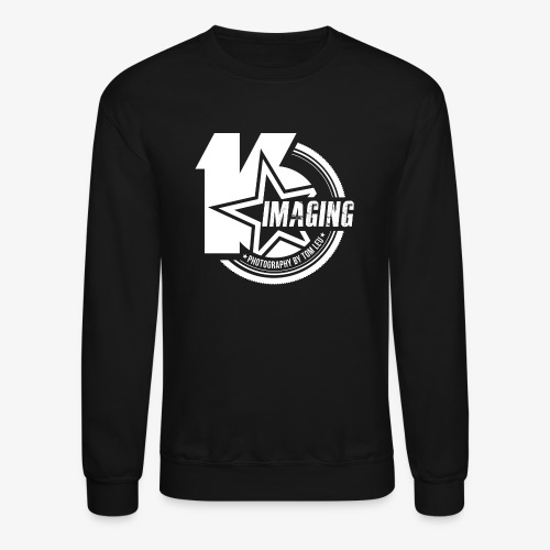 16IMAGING Badge White - Unisex Crewneck Sweatshirt