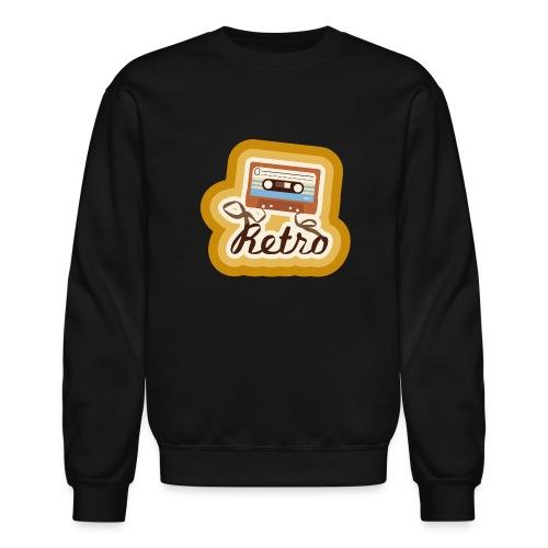 Retro-Cassette - Crewneck Sweatshirt