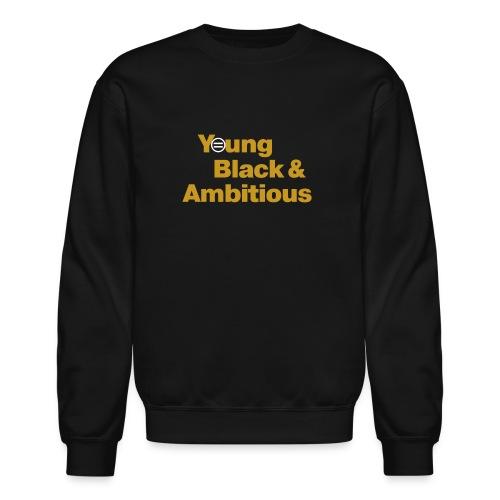 YBA Black and Gold Shirt2 - Unisex Crewneck Sweatshirt