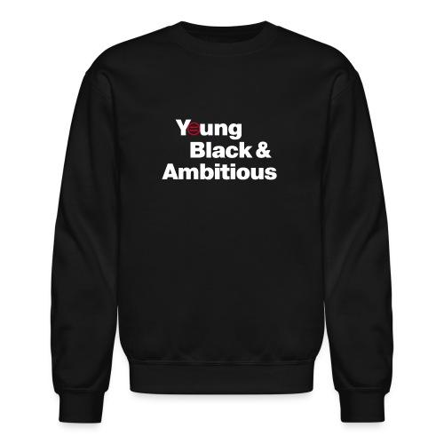 YBA Black Shirt2 - Unisex Crewneck Sweatshirt