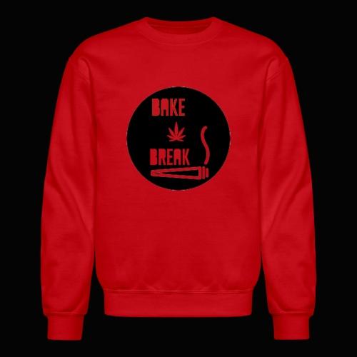 Bake Break Logo Cutout - Crewneck Sweatshirt