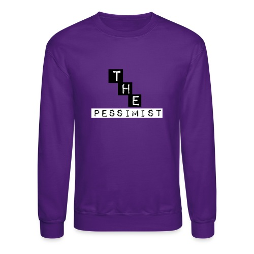 The pessimist Abstract Design - Crewneck Sweatshirt