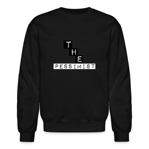 The pessimist Abstract Design - Unisex Crewneck Sweatshirt