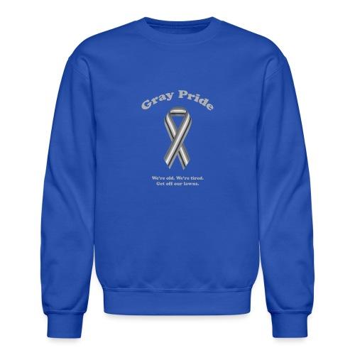 Gray Pride - Crewneck Sweatshirt